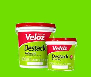 Tinta acrilico Verde Limão Destack Galão com  3,6 Litros Interior - Veloz