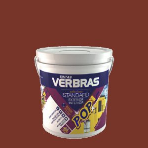 Tinta acrilico terra cota fosco stand (galão 3,6l) int/ext - verbras