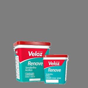 Tinta semi-brilho Cinza Neutro Renove latão com 18 litros - Veloz