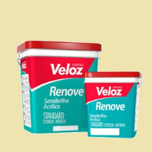 Tinta semi-brilho Pérola Renove Galão com 3,6 litros - Veloz