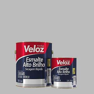 Tinta Esmalte Branco Gelo Alto Brilho 1/4 com 900ml - Veloz