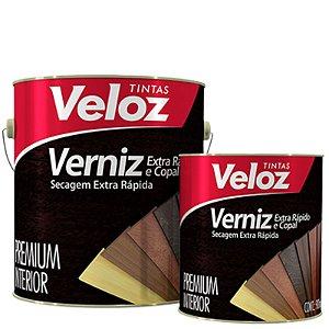 """Verniz Incolor Copal extra rapida 1/4"""" 900ml - Veloz"""