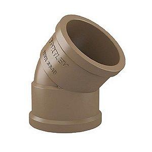 Joelho 45° 25mm hidraulico - fortlev