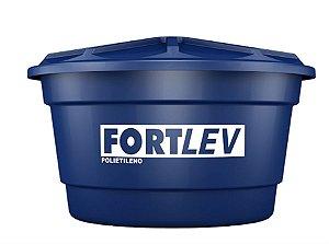 Caixa d'agua com tampa 500l polietileno - fortlev
