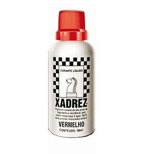 Bisnaga vermelho - xadrez