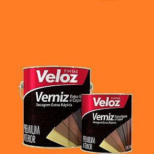 "Verniz Cerejeira extra rapida 1/4"" 900ml - Veloz"