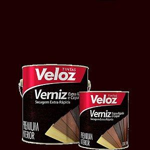 "Verniz Imbuia extra rapida 1/4"" 900ml - Veloz"