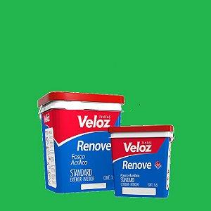 Tinta Acrílica Verde Limão Fosco Renove Galão com 3,6L Int/Ext - Veloz