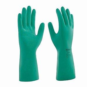 Luva multiuso palma antiderrapante de latex verde - mucambo