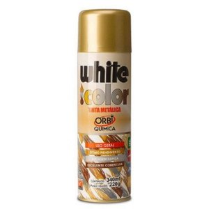 Spray uso geral ouro 340ml - white color