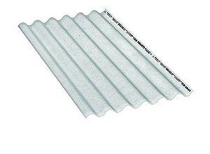 Telha ondulada 1,22 x 1,10m x 5mm - brasilit