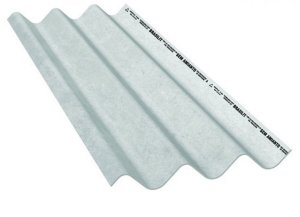 Telha maxiplac 6mm x 3,00 x 1,06m - brasilit