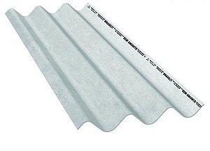 Telha maxiplac 3,70 x 1,06m x 6mm - brasilit