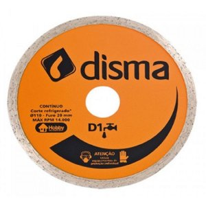 Disco diamantado continuo 105mm d1 - disma