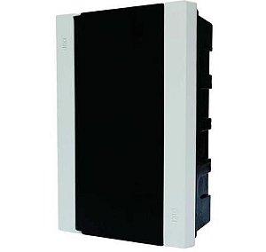 Centro de distribuição para 6/8 disjuntores din/nema - canal