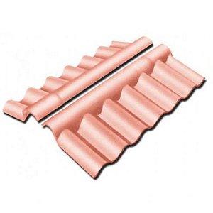 Cumeeira articulada para telha ondina plus 4mm - brasilit