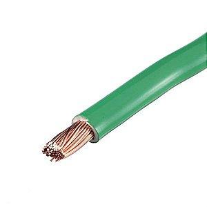 Cabo eletrico 4,0mm verde rolo com 100mts - nexcabos