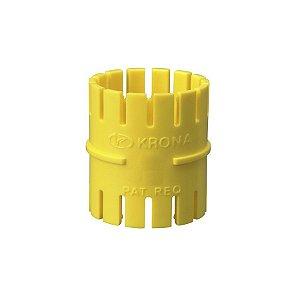 "Luva 3/4"" eletroduto flexivel amarelo - krona"