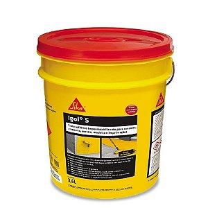 Impermeabilizante asfaltico igol s galão com 3,6 lts - sika
