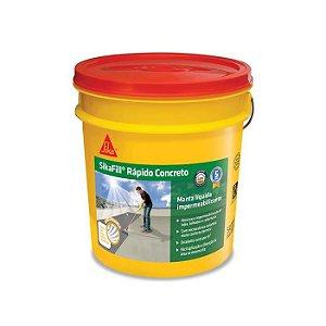 Impermeabilizante Sikafill Rápido Concreto Galão com 3,6 - sika