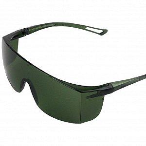 Oculos de segurança norsafety nsc3 verde - norton