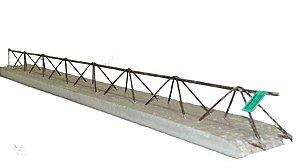 Laje pré moldada treliçada t4 padrão residencial vão livre 3,50 metros - premac