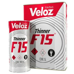 Thinner F-15 900ML - Veloz