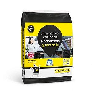 Argamassa AC-2 Cimentcola Cozinhas e Banheiros 20kg - Quartzolit