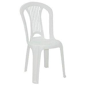 Cadeira Bistrô Atlântida em Polipropileno Branco - Tramontina