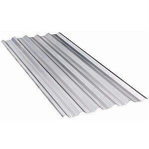 Telha Galvanizada Trapezoidal 6,00m x 1,04m x 0,43mm - Sinobras