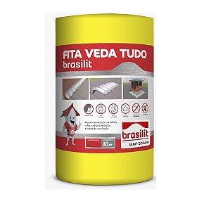 Manta 20cm VedaTudo aluminio rolo com 10 metros - Brasilit