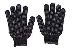 Luva de algodão preta pigmentada - Fertak