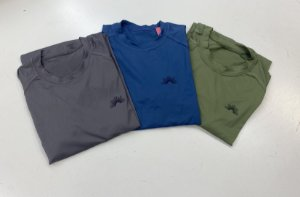 Camiseta Manga Longa Adulta com Filtro Solar Verde Oliva