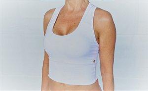 Top cintura longa Emana Branco