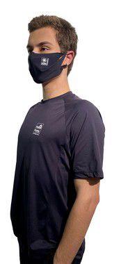 Camiseta Antiviral Permanente Adulta - Manga Curta (PRETA)