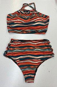 Biquini Hot Pants - Lycra Praia
