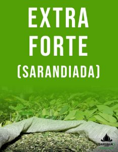 Erva Mate Carvalho Extra Forte Grossa/Sarandiada (500g)