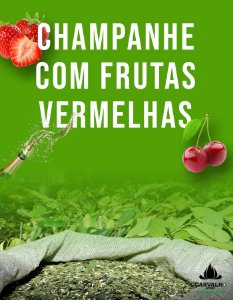 Erva Mate Carvalho Champanhe Com Frutas Vermelhas (500g)