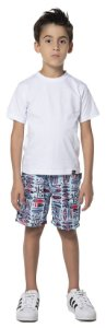 Camisetas Basica de Malha - Algodao Penteado de primeira qualidade- COR BRANCA