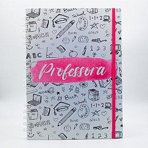 Caderno Universitário Espiral - Profissão Professora