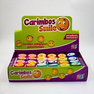Carimbo Auto entintados- Smile com 24 und.