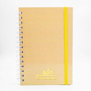 Agenda Permanente Pastel (Amarela)