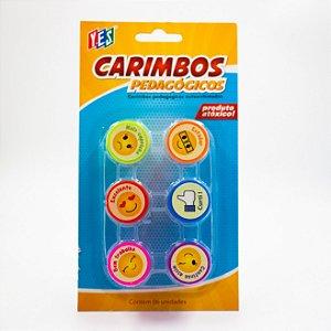 Carimbo Auto entintado - Pedagógico Cb064-2 - Yes
