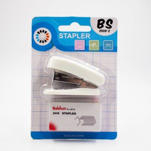 Grampeador Mini BS2008-2 /branco