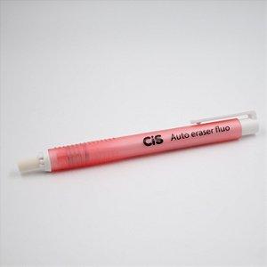 Caneta Borracha Auto Eraser Fluo CIS - rosa