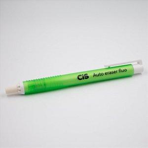 Caneta Borracha Auto Eraser Fluo CIS - verde