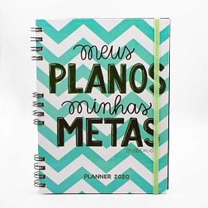 Agenda Semanal Planner 2020 -  Collab Letras do Lucas - Capa 03