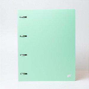 Fichário tons pastel cor verde A4 - YES