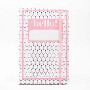 Caderno Pontado Hello - @bujolizando