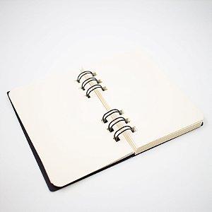 Caderno Sketchbook Folhas Lisas Peq.